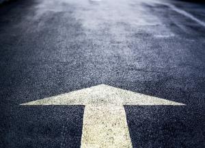 road-arrow